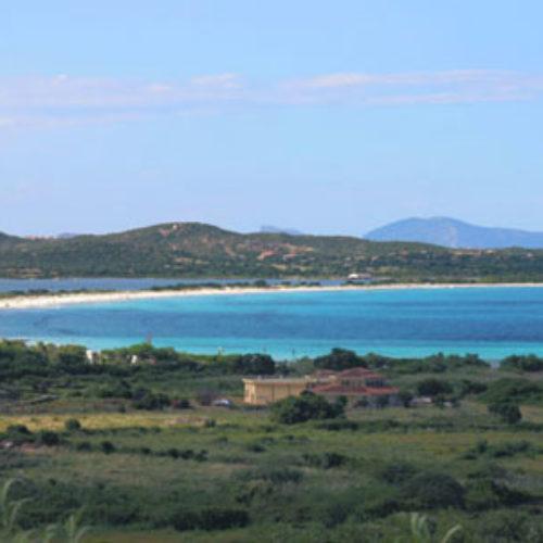 La spiaggia La Cinta a San Teodoro