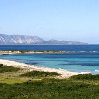 La spiaggia de L'Isuledda a San Teodoro