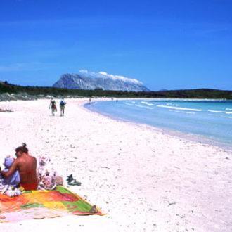 La spiaggia di Cala Brandinchi a San Teodoro