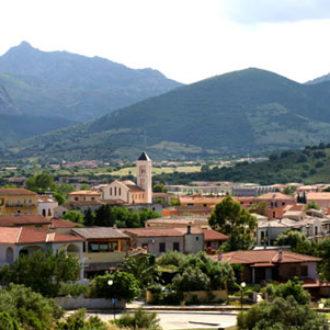 Il centro di San Teodoro, Sardegna