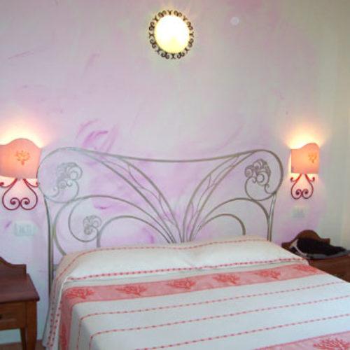 Una delle camere dell'Hotel a San Teodoro