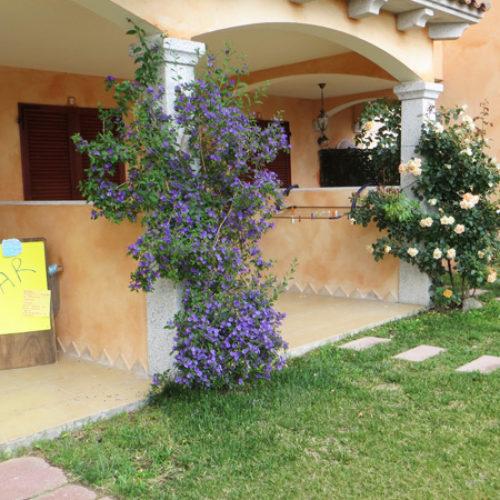 Una veranda dell'hotel