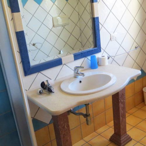 Uno dei bagni dell'Hotel