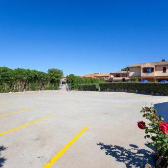 Il Parcheggio dell'Hotel a San Teodoro