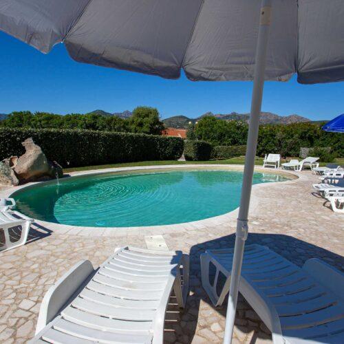 La piscina dell'Hotel Il Viandante